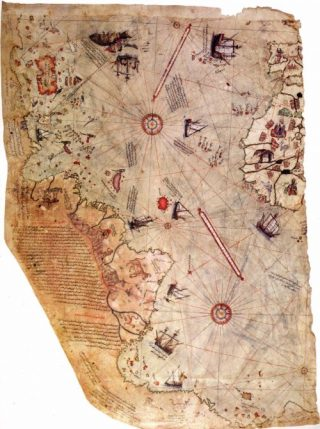 Piri Reis-kaart - cc