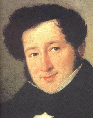 Rossini als jongeman