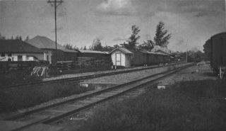 Spoorwegstation Atjeh Tram (cc - Tropenmuseum)
