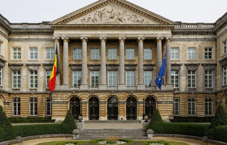 Paleis der Natie in Brussel