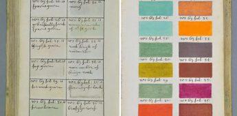 Een boek uit 1692 met 'alle kleuren'