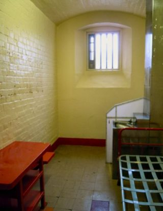 De cel van Oscar Wilde in Reading Gaol - cc
