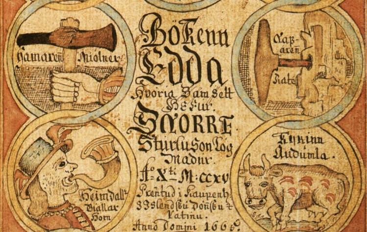 Edda van Snorri Sturluson (fragment)