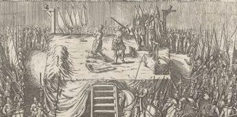 De onthoofding van Egmont en Horne (1568)