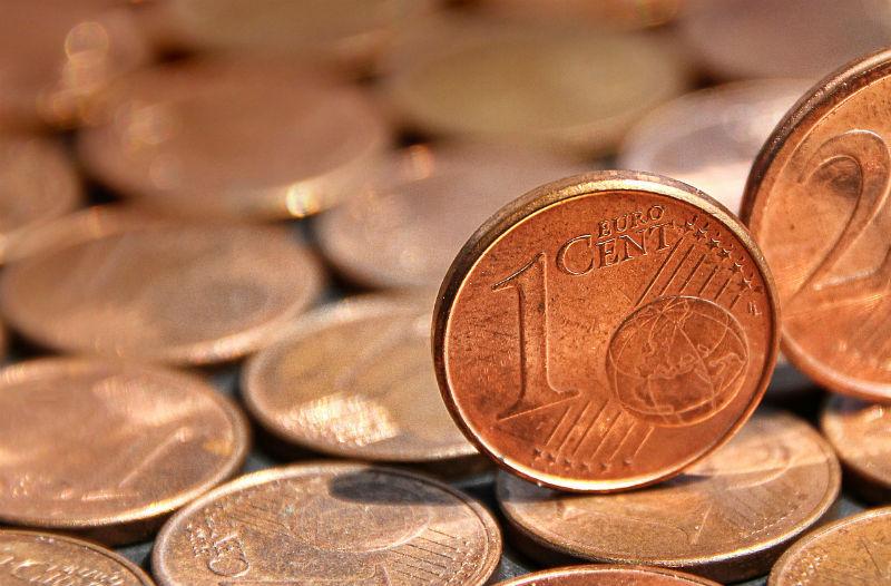 Geen rooie cent hebben (Pixabay)