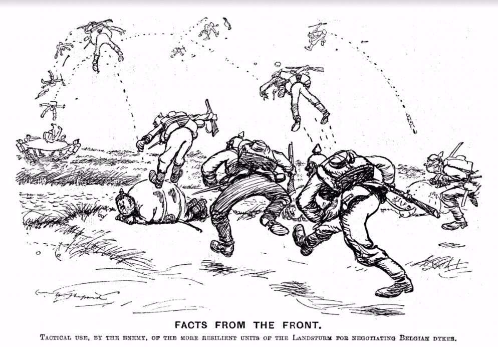 Facts from the front (bouncing) - Reproduced with the permission of Punch Ltd., www.punch.co.uk