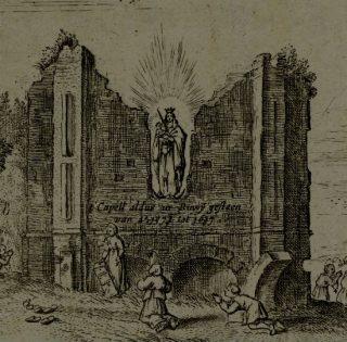 Bedevaartgangers bij Onze Lieve Vrouwe ter Nood te Heiloo, 1637, anoniem, in of na 1637