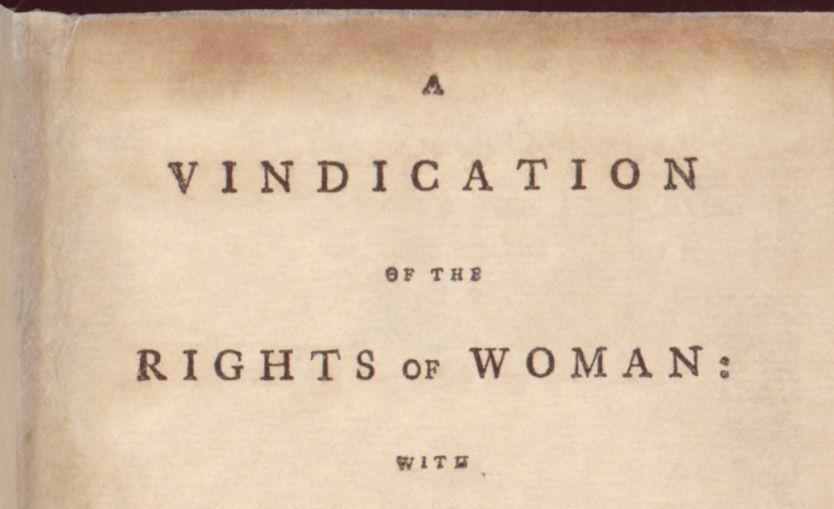 A Vindication of the Rights of Woman (Pleidooi voor de rechten van de vrouw) - Mary Wollstonecraft