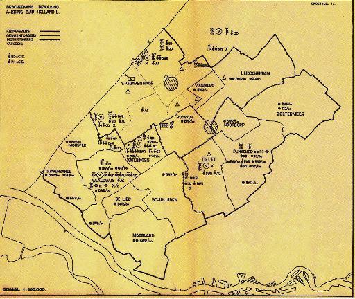 Het 'Beschermingsplan 1964' van Bescherming Bevolking ging uit van de gevolgen van twee kernbommen, op vliegveld Ypenburg en de Hofvijver.