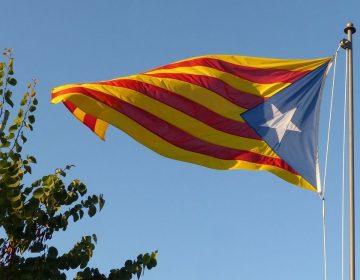 Blauwe estelada, embleem van de Catalaanse onafhankelijkheidsbeweging (cc - Pixabay - makamuki0)