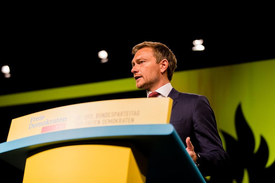 Christian Lindner, sinds 2013 partijvoorzitter van FDP (cc - Pixabay - kschneider2991)