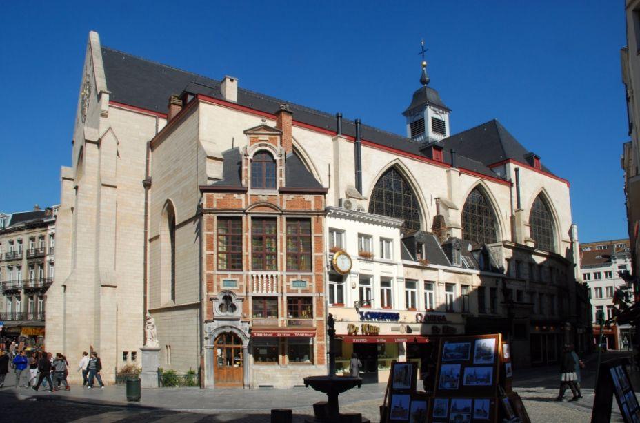 De Sint-Niklaaskerk in Brussel - cc