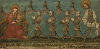 Het op een na oudste schilderij van Nederland (ca. 1380)
