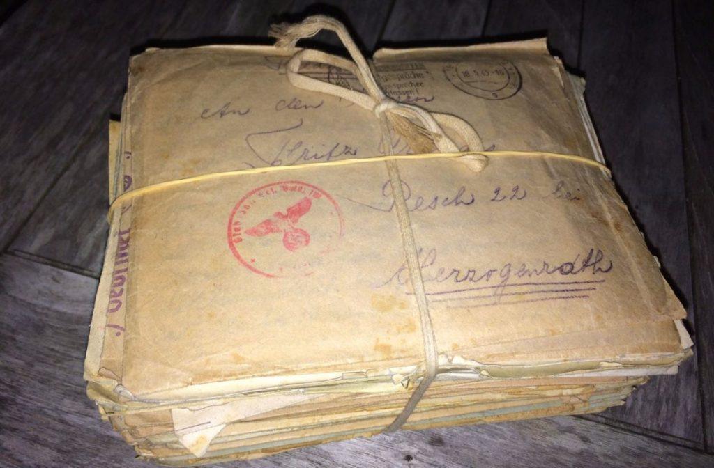 De gevonden brieven uit de Tweede Wereldoorlog (Facebook)