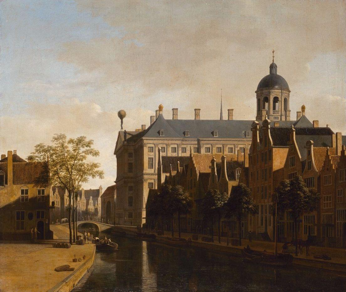 Gerrit Berckheyde, Zicht op het Stadhuis in Amsterdam, 1670 © State Hermitage Museum, St Petersburg