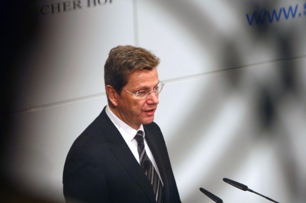 Guido Westerwelle als minister van Buitenlandse Zaken