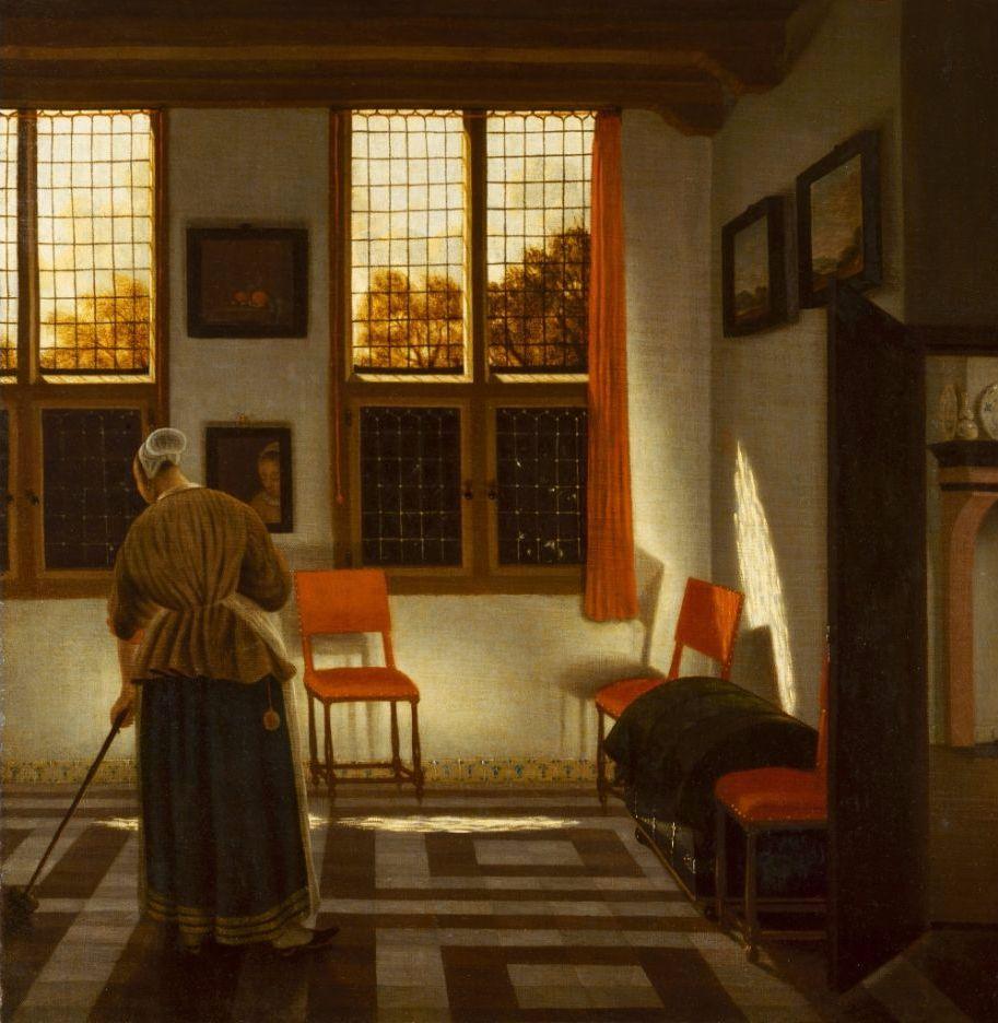 Pieter Janssens Elinga, Huiskamer, ca. 1665–75 © State Hermitage Museum, St Petersburg