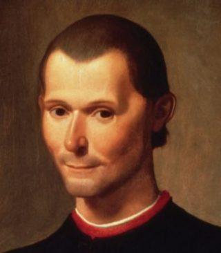 Portret van Niccolò Machiavelli door Santi di Tito