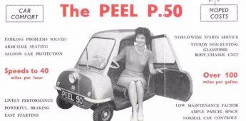 Peel P50 – Het kleinste autootje ooit