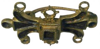 Romeinse mantelspeld (Foto: Over de Maas) die in het gebied is gevonden (OVerdemaas)