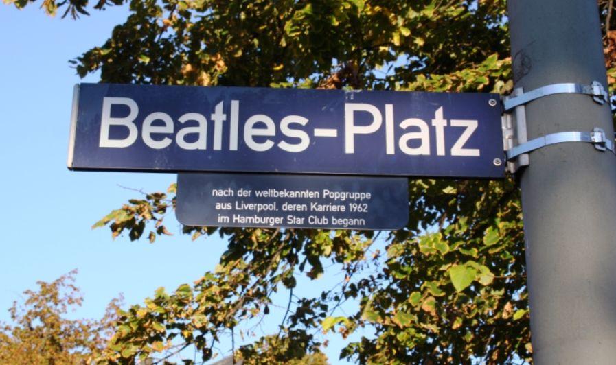The Beatles-Platz in Hamburg