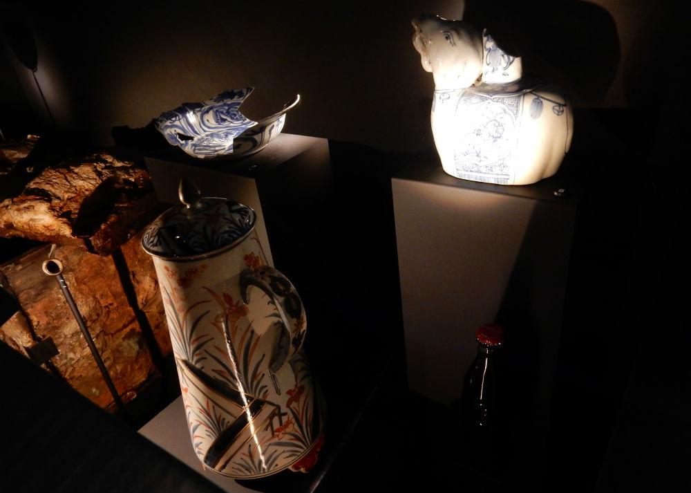 Verdekt opgesteld flesje cola in de Canon-presentatie