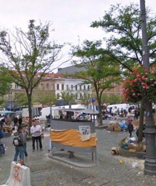 Vossenplein in Brussel (Google Street View)