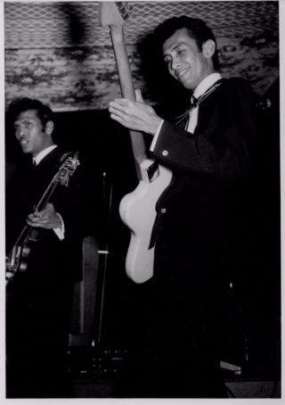 Andy en Reggy Tielman, ca. 1965. (Foto uit collectie Leon Donnars.)