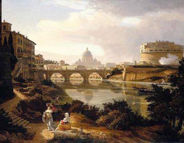 Rome, door Rudolf Wiegmann (1834)