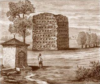 Ćele-Kula in 1863