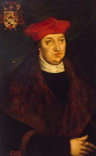 Aartsbisschop Albrecht van Mainz (Lucas Cranach de Oudere, 1526)