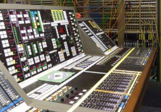Apparatuur die in de studio te vinden was