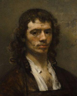 Carel Fabritius, zelfportret (ca. 1645)