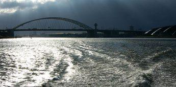 De geschiedenis van de Rijn