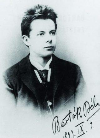 De jonge Béla Bartok