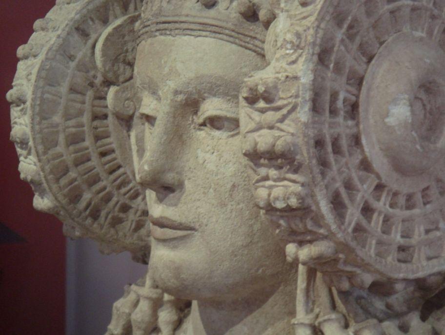 Detail van 'La Dama de Elche' - cc