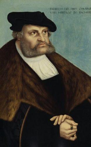 Frederik de Wijze, keurvorst van Saksen door Lucas Cranach de Oude, geschilderd in 1532.