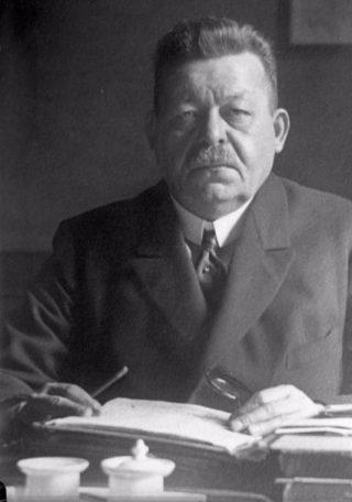 Friedrich Ebert, de eerste Rijkspresident van Duitsland