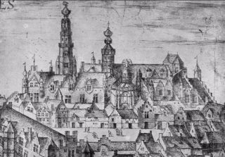 Hof van Nassau - Zicht op de noordoostzijde