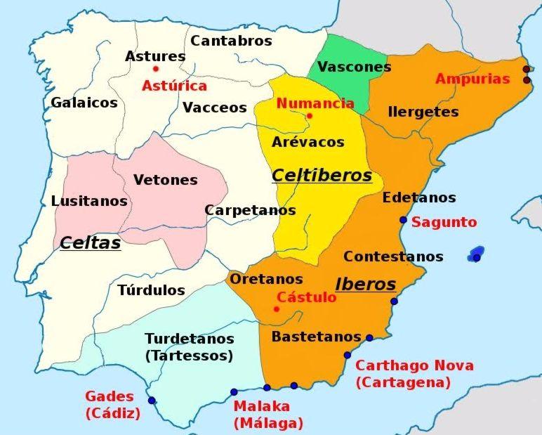 Iberia rond 200 voor Christus