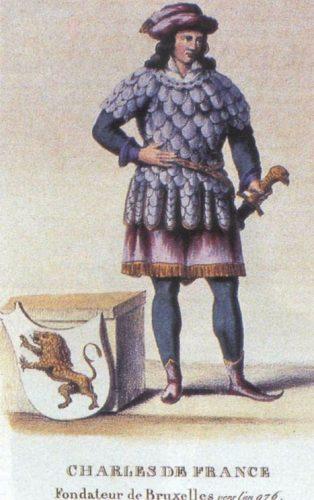 Karel van Neder-Lotharingen (953-992), stichter van Brussel