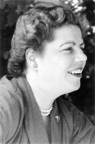 Loes van Overeem, ca. 1950