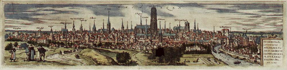 Mechelen in de zestiende eeuw