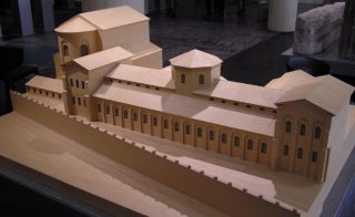 Model van het praetorium van Keulen - cc