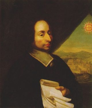 Portret van Blaise Pascal