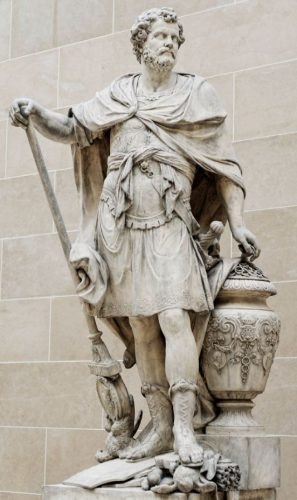 Standbeeld van de Carthaagse generaal Hannibal