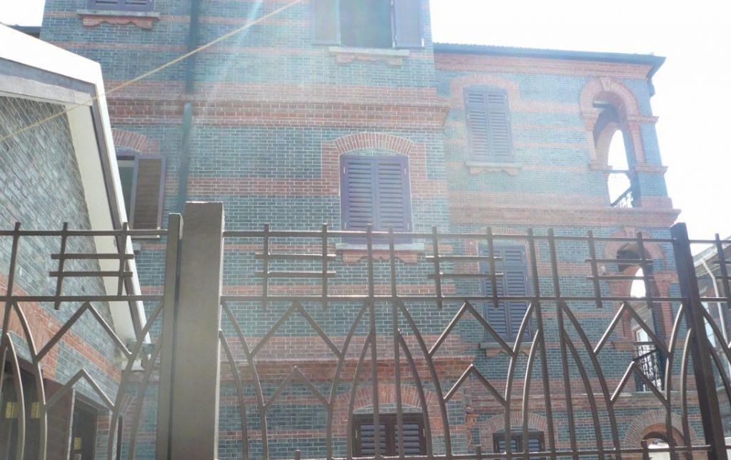 Synagoge in het voormalige getto van Shanghai - cc