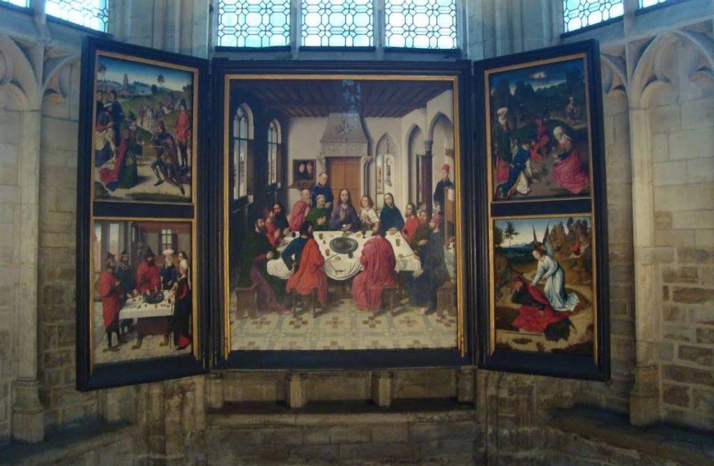 'Het laatste avondmaal' - Dirk Bouts, Sint-Pieterskerk Leuven