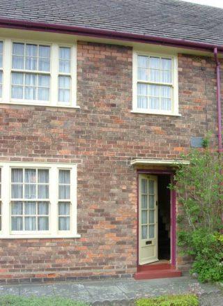 Ouderlijk huis van Paul McCartney aan Fourthlin Road (CC BY-SA 3.0 - Havaska - wiki)