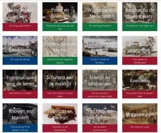 Inhoud van het e-book 'Nederlanders en wijn'